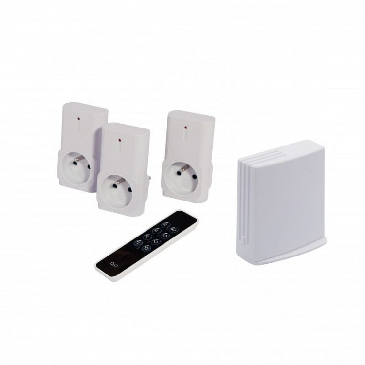 Pack éclairage connecté Litebox + 3 prises + 1 télécommande - Dio