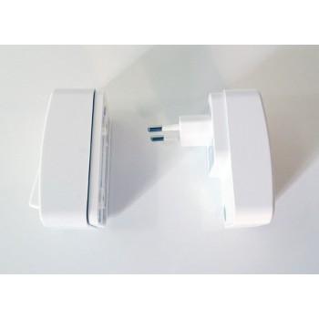 Pack sonnette sans fil et sans pile, bouton et récepteur - Eco-Life