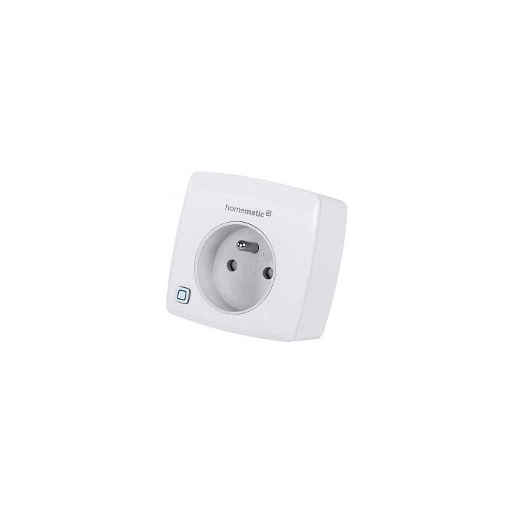 Prise Connectée sans fil avec mesure de la consommation - Homematic Ip